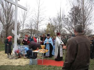 освящение креста2