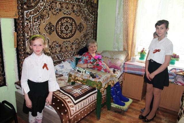 Подарки ветеранам сделанные детьми